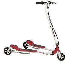 Kids 3 Wheels Foldable Speeder Push Scooter Tri Slider Red