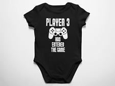 Player 3 Has Entered The Game Baby Bodysuit One-Piece Jump Suit Love Infant