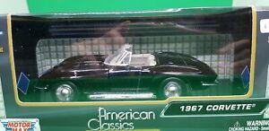 1959 Chev Corvette Diecast Model Car 1:24