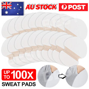 Underarm Armpit Sweat Pads Stickers Summer Shield Guard Absorbing White AU