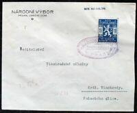 s2045) Pfadfinder Boy Scouts - Tschechoslowakei Skauten seltener Sonderstempel