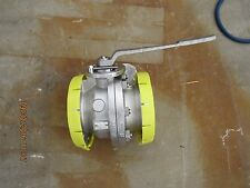 ARGUS FLOWSERVE TYPE FK79 4'' 150 STAINLESS BALL VALVE TEFLON SEATED NEW