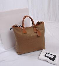 NWT Prada Shopping Logo Jacquard Tote Shoulder Bag BN2354