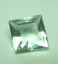 Rare natural soft green fluorite gem...7 carat
