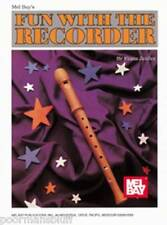 Mel Bay Fun with the Recorder by Franz Zeidler-New !