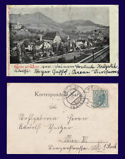AUSTRIA GRUSS AUS WEYER POSTALLY USED CIRCA 1905