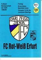 OL 88/89  FC Carl Zeiss Jena - FC Rot-Weiß Erfurt, RS-B