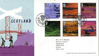 15 JULY 2003 SCOTLAND PICTORIAL DEFINITIVES ROYAL MAIL FIRST DAY COVER SHS