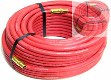"2 new 100Ft 1/4"" continental Rubber Air Hose"