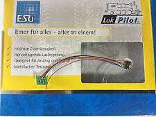 +++ ESU 53661  LokPilot Nano Standard, DCC Decoder, 8-pol. Stecker NEM 652