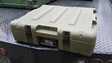 Miltope briefcase pelican style Military Surplus transport Shipping Storage Case