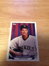 Topps 1993 Andy Ashby #794 Colorado Rockies Major Leagues Modern (1981-Now)