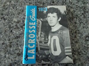 Vintage 1973 Official Collegiate / Scholastic Lacrosse Guide