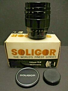 """Soligor 135mm f2.8 """"T"""" mount. manual focus lens with box and adaptor your choice"""