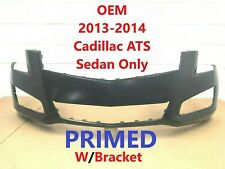 2013-2014 OEM cadillac ats (sedan only) front bumper cover 20861604 (primed) #1