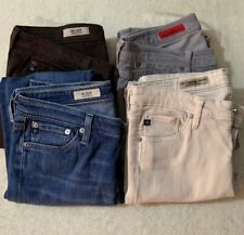 Lot Of 4 Adriano Goldschmied Jeans:The Stilt, Legging Ankle, Casablanca Size 27R
