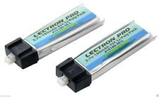 Latest Lectron 2 pcs 180mAh 1S 3.7V 45C LiPo Battery BLADE MSRX PARKZONE NAO CPX