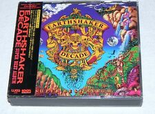 EARTHSHAKER DECADE-  SUPER BEST ALBUM - 2 CDs - JAPAN/OBI - RAR