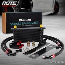 19 Row AN10 Aluminum Engine Oil Cooler Kit For Subaru Impreza WRX/STi 01-05