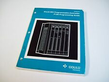 Gould Gm-0984-001 Programable Controller 984 P190 Guide Manual - Free Shipping