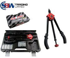 US Pro Tools largo brazo rápida carga Tuerca con rosca Remachadora M3-12 nuevo 5433