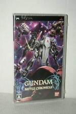 GUNDAM BATTLE CHRONICLE USATO OTTIMO SONY PSP EDIZIONE GIAPPONESE VBC 51174