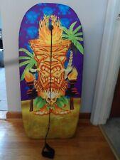 Vintage Michael Searle Boogie Board, Body Board Tiki God