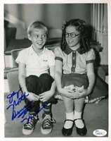 JAY NORTH JSA Coa Autograph 8x10 DENNIS THE MENANCE Photo Hand Signed