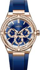 Invicta Women's Bolt Quartz 100m Stainless Steel/Blue Polyurethane Watch 28912
