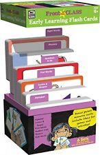 Early Learning Flash Cards, Kids Kindergarten Preschool School Education Nib