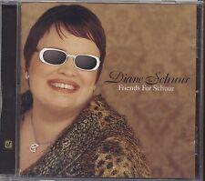 DIANE SCHUUR - Friends for schuur - CD 2000 NEAR MINT CONDITION
