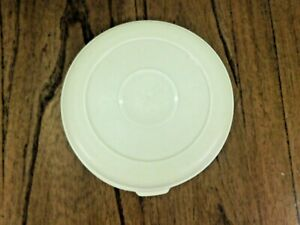 Retired Rubbermaid Almond Servin Saver Round #4 LID ONLY