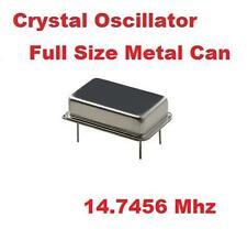 14.7456Mhz 14.7456 Mhz CRYSTAL OSCILLATOR ( Qty 10 ) *** NEW ***