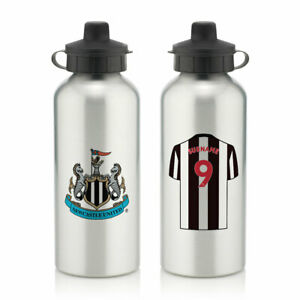 PERSONALISED Newcastle United FC Gifts - Aluminium Water Bottle - Official
