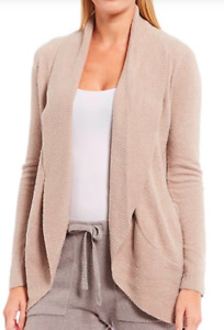 BAREFOOT DREAMS Taupe Chic Lite Circle Lounge Cardigan Sweater XS / Small