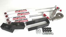"K1500 1992-1999 LIFT KIT 1""-3"" TORSION KEYS 1.5"" BLOCKS DOETSCH TECH SHOCKS 4WD"