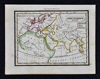 1832 Murphy Classical Atlas Map - Orbis Veteribus Notus - Ancient World Europe