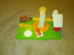 Vintage 1980 Pumpkin Farm Playset Garbiel Child Guidance Original Box