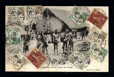 17813-INDOCHINA-OLD POSTCARD SAIGON to YOURNAY(france)1911.Vietnam.Carte Postale