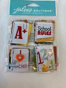 "EK Success Jolee's Boutique Embellishments ""Stitched Notebook Word"" Scrapbooking"