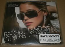 I Said Never Again But Here We Are Rachel Stevens~2005 UK Import CD Single~FAST!
