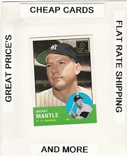 1996 TOPPS Mantle Commemorative Set MICKEY MANTLE  (Yankees) #13