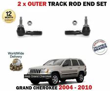 FOR JEEP GRAND CHEROKEE 2004->  2x OUTER STEERING TRACK RACK ROD END SET