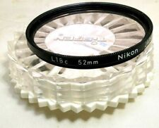 Nikon L1BC (2402) 52mm Lens Filter made in Japan Genuine Nikkor Skylight Sky