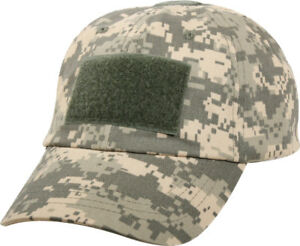 Tactical Operator Cap Adjustable Military Contractor Army Patch Camo Hat