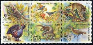 Russia-1997. Fauna of Russia. 6€