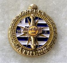 HARD ROCK CAFE ATHENS GREECE LIMITED EDITION EUROPEAN COMPASS SERIES PIN # 91341