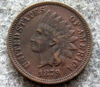UNITED STATES 1879 CENT INDIAN HEAD, HIGH GRADE