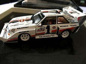 AUDI SPORT QUATTRO S1 WALTER ROHRL PIKES PEAK 1987 MINICHAMPS 436871201 1/43