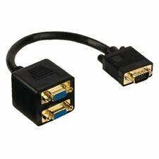 Glaxio VGA splitter cable VGA male - 2x VGA female 0.20 m black